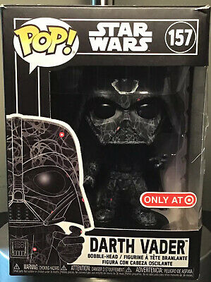 Funko Pop! Star Wars Darth Vader 157 Futura Target See Desc No Hard Case