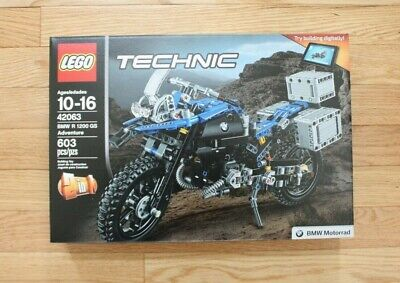 NEW LEGO 42063 Technic BMW R 1200 GS Adventure Advanced Building Toy Boy Gifts