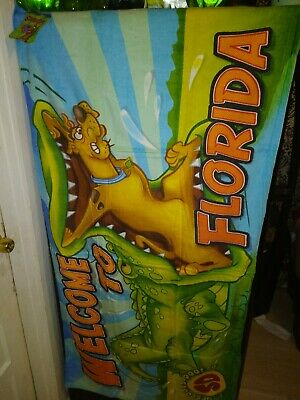 Scooby-Doo Beach Towel