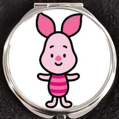 Piglet Cutie Winnie the Pooh Disney Gift Beauty Makeup Compact Mirror Double