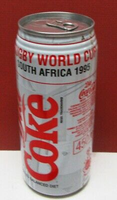 "No Barcode ""Rugby World Cup"" Diet Coke 450 Ml Can-South Africa-Full-Excellent"