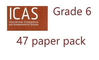 ICAS Paper D Grade / Year 6...  47 latest papers in total