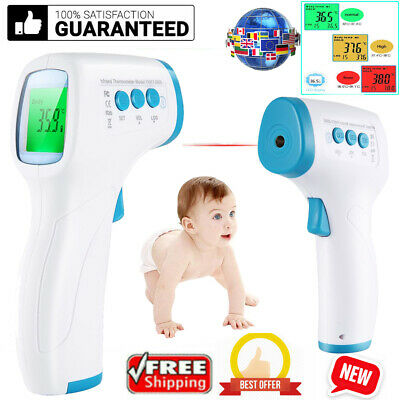 Forehead Infrared Handheld Thermometer Adult Infant Digital Non-contact Temp Gun