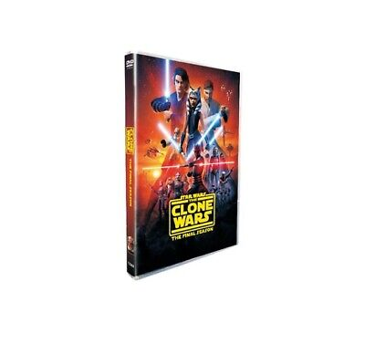 Star Wars: The Clone Wars Season 7 (DVD, 3-Disc set) US SELLER, BRAND NEW