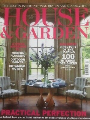 House and garden magazine, July    2015