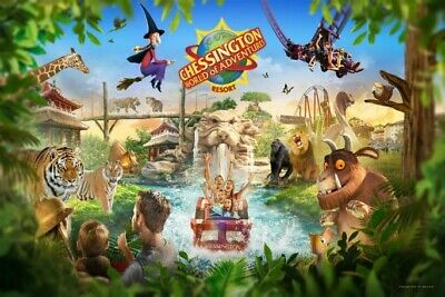 2x Chessington Tickets Use On Any Date
