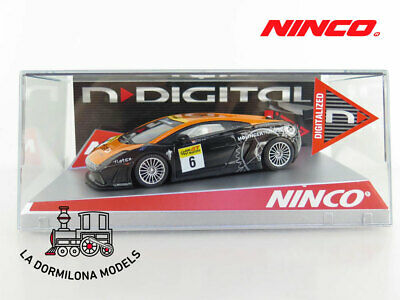 Ninco 50483 N- Digital Lamborghini Gallardo Flatex - Slot Scalextric - Nuevo