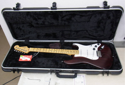 Fender FSR AM STD ST MAH M WR Wine Red American Standard Strato Electric Guitar