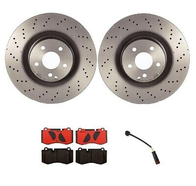 Brembo Front Left or Right Drilled Disc Brake Rotor 350mm For Mercedes C216 W221