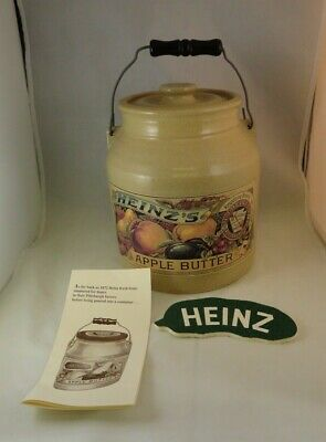 VINTAGE 1992 HEINZ APPLE BUTTER CROCK – Signed and Dated