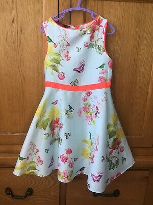 Girls Ted Baker Dress Size 6 Years