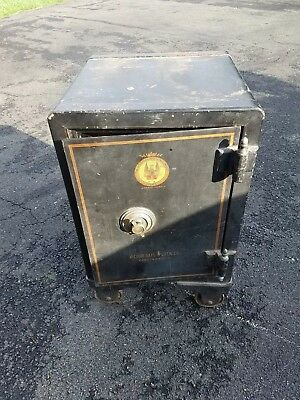 Antique Victor Safe late 1800s