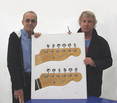 STATUS QUO//MINI GOLD DISC DISPLAY//LIMITED EDITION//COA// ROCKIN ALL OVER THE WORLD