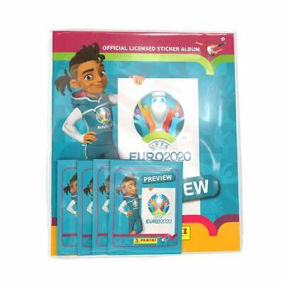 Panini Euro 2020 Preview Sticker Collection - Starter/Album Pack