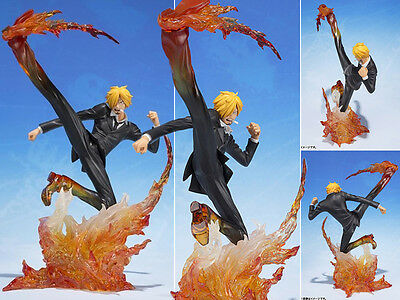 "Collections Anime One Piece Figure Toy Vinsmoke Sanji Figurine Statues 7"" No Box"