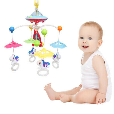 Baby Musical Mobile Projection Nursery Lights, Bed Crib Cot Toy Musical New