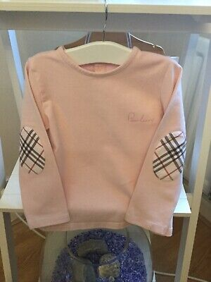 Burberry Long Sleeved Top Age 3