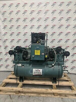 Used Curtis Duplex Piston Compressor Dual 3 HP Compressor, Integrated Dryer