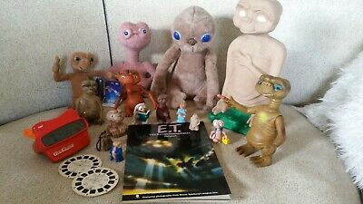 ET THE EXTRA TERRESTRIAL - 15 figures - View Master & 2 reels & book