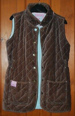 Joules, Girls, Padded, Brown, Body Warmer, Gilet, size 9-10 years (146)