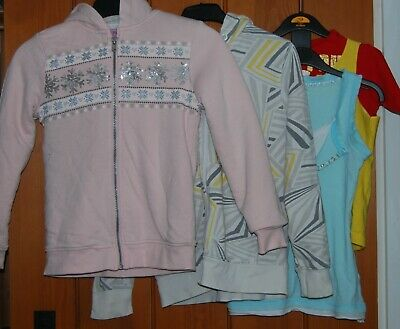 M&S, Decathlon, etc, Girls, Jackets, Tops, size 9-10 yrs