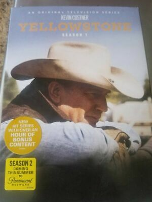 Yellowstone: Season One 1 (DVD, 2018, 3-Disc Set) NEW Kevin Costner