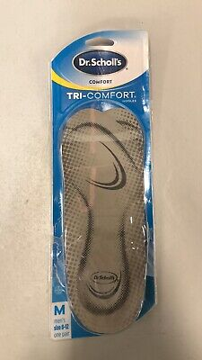 Dr. Scholl's Comfort Tri-Comfort Insoles for Men 1 Pair Size 8-12 Pre-owned