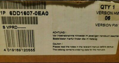 1Pc Siemens 6Dd1607-0Ea0 New Opned Box Never Used