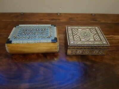 Vintage  House clearance jewelry boxes