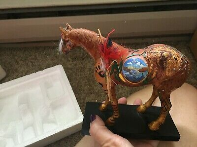 Painted Ponies REUNION OF THE FAMILY OF MAN 4E/0100 ret 1/08 has box no tag