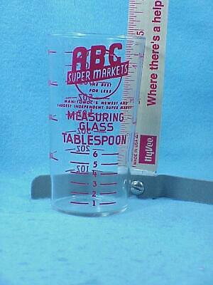 ABC Markets Measuring Glass  - Manitowoc, WIS
