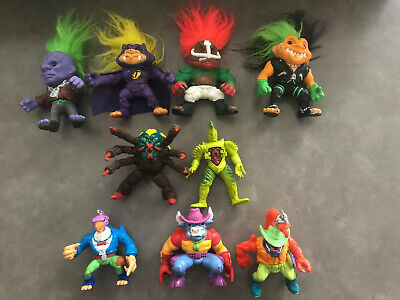 1992 Troll Hasbro Dolls / Power Ranger Action Figures / 1991 RE Bee Toy 9 TOTAL