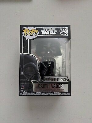 Funko Pop Star Wars Darth Vader (Lights & Sounds) #343