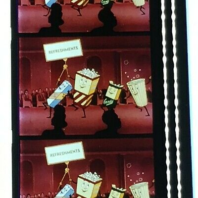 16mm Film LET'S ALL GO TO THE LOBBY - Classic Theater Intermission  Ad Near Mint