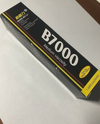 B 7000 Glue Industrial Adhesive for Phone Frame Bumper Jewelry 50ml