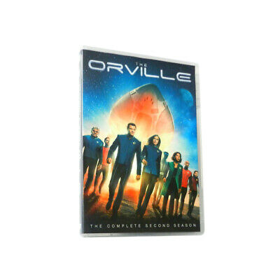 The Orville Season 2 (DVD,4-Disc) Free shipping