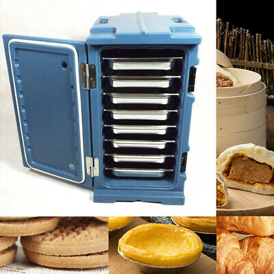 Insulated Food Pan Carrier, 6 Pan Capacity Hot & Cold Load Pan Carrier