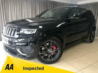 2017 17 Jeep Grand Cherokee 6.4 Hemi Srt8 5D 461 Bhp