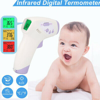 Handheld Digital Forehead Thermometer Infrared LCD Non-touch Temperature Gun