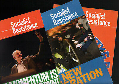 SOCIALIST RESISTANCE magazine ecosocialist Fourth International 8 issues