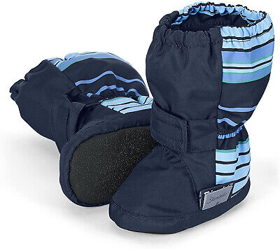 Sterntaler Baby Boys? Schuh Babyshoes and Slippers Blue Size: 1.5 Child UK