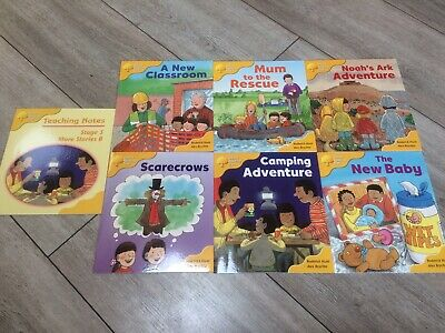 Oxford Reading Tree Stage Level 5 Pack Set 6 Books Biff Chip Kipper More Stories