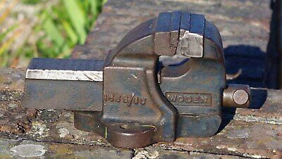 Vintage Woden 186B/00 engineers bench vice - Made in England