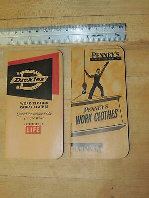 Vintage Work Clothes Advertising Dickies and Penny's Booklet
