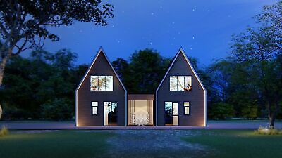 TitanPro - Ready House | Town House | Holiday House | Prefabricated | 93m2