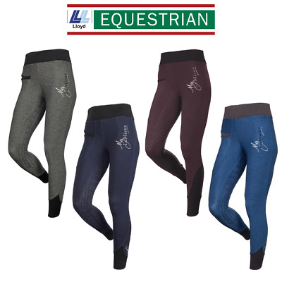 D | LeMieux Activewear Pull On Seamless Breeches