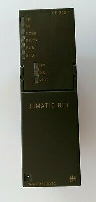 Siemens 343-1Ex30-0Xe0 Simatic 1P 6Gk7343-1Ex30-0Xe0 Communication Module Used