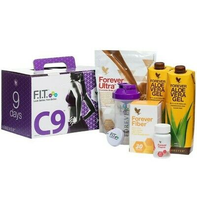 Forever Living C9, Aloe vera drink, chocolate shake, Detox Cleanse