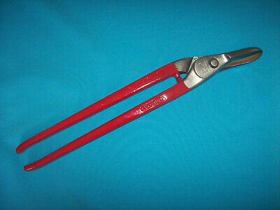 """Vintage 14"""" Stanley No.5741 Right Hand Tin Snips (6F)"""