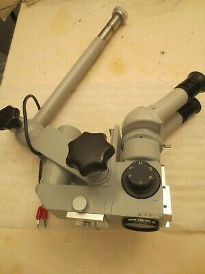 Carl Zeiss OPMI-1 Surgical Microscope  with 12.5 X Eye Pieces & F-250 Objective